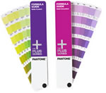 Pantone guide fanned out