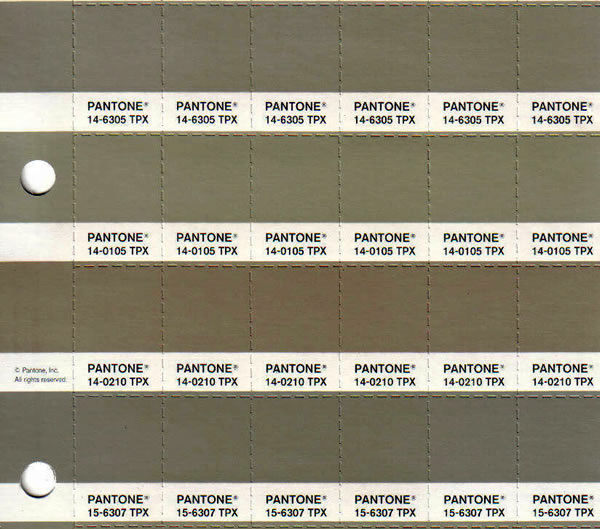 Fbp100 Pantone For Fashion And Home Color Specifier